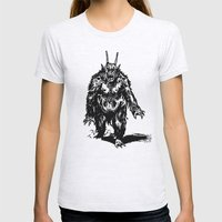 La Créature/The Creature Womens Fitted Tee Ash Grey SMALL