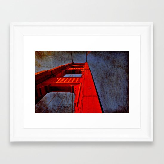 San Francisco- Golden Gate Framed Art Print