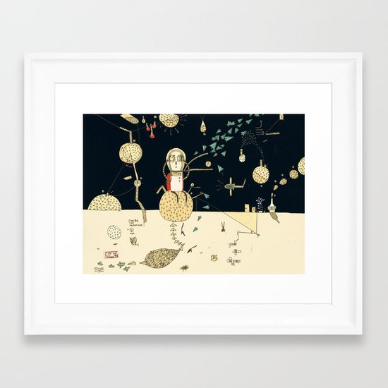 """""""You will not do incredible things without an incredible dream."""" – John Eliot Framed Art Print"""