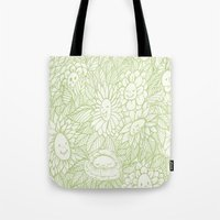 Flower Ladies Tote Bag
