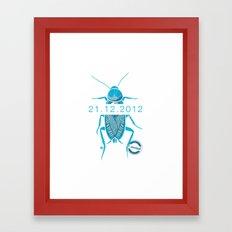 21.12.2012 - I survived Framed Art Print