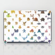 Pokemon,Color iPad Case