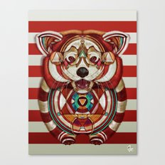Red Panda By Giulio Ross… Canvas Print