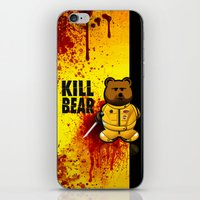 KILL BEAR iPhone & iPod Skin