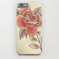Rose on a Stem iPhone 6 Slim Case
