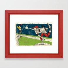 The Spitball Framed Art Print
