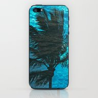 Swimming Palm iPhone & iPod Skin