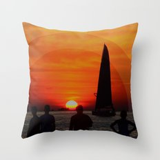 The Set Throw Pillow