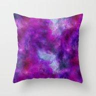 Throw Pillow featuring Aquarell by LebensART