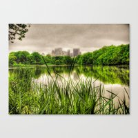 New York Central Park Canvas Print