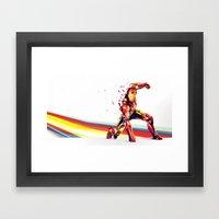 DASHED... .. . .  .   . … Framed Art Print