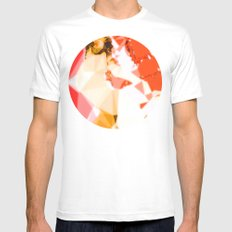 Jet Sex Radio Mens Fitted Tee SMALL White