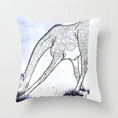You're tall, just like a Giraffe Throw Pillow