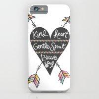 Kind Gentle Brave 1 iPhone 6 Slim Case