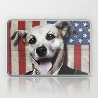 Patriotic Dog   USA Laptop & iPad Skin