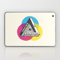 Seeing is Believing Laptop & iPad Skin