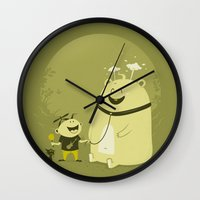 Meet Momo Wall Clock