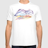 Varenna Sunset Mens Fitted Tee White SMALL