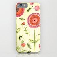 Rose garden iPhone 6 Slim Case