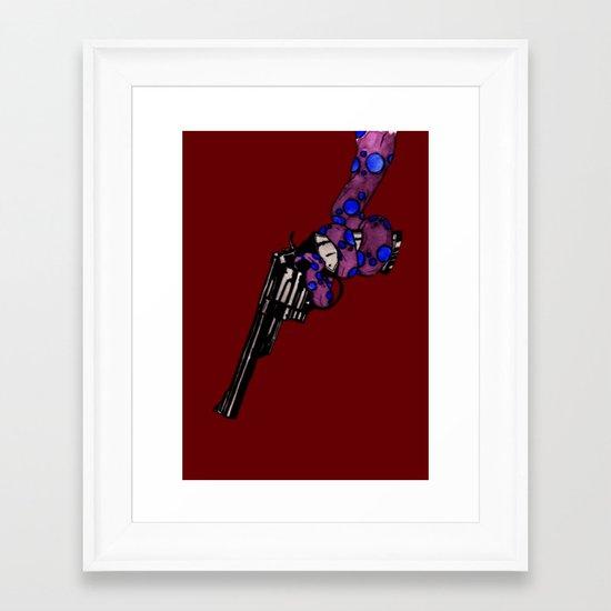 Oceanic Menace 2 Framed Art Print