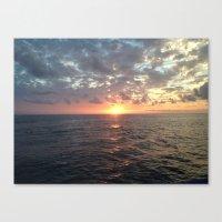 Sunset, Florida Keys Canvas Print
