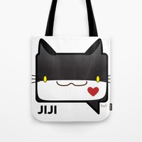 Convo Cats! Jiji Tote Bag