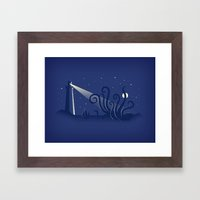 All Hands On Deck Framed Art Print