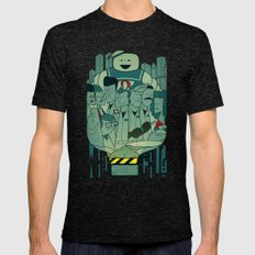 Ghostbusters Mens Fitted Tee Tri-Black SMALL