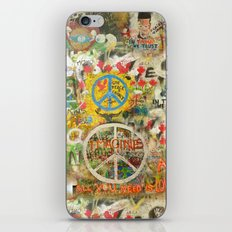 Peace Sign - Love - Graf… iPhone & iPod Skin