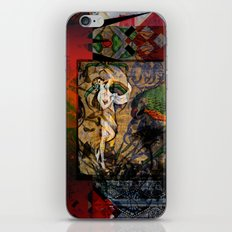 Captured Fragments iPhone & iPod Skin