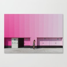 Lost in saturation Canvas Print