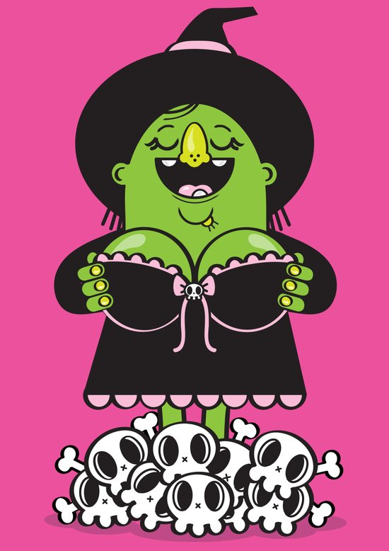 Boobies Trap Art Print