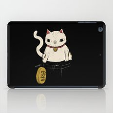 actual lucky cat iPad Case