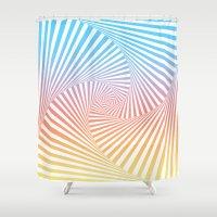 Bakana Summer Twista  Shower Curtain