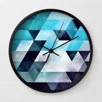 Blykk Myzzt Wall Clock