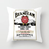 Beam Team Throw Pillow