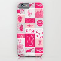 iPhone Cases featuring Fright Delight by Josh Ln