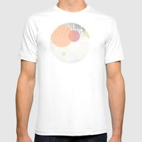 Dots//Six Mens Fitted Tee White SMALL