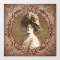 Vintage Portrait Canvas Print