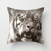 Tiger Cub 1 Throw Pillow