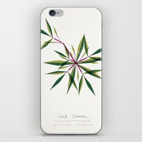 Crab Grass Modern Botani… iPhone & iPod Skin