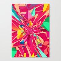 Explosion #1 Canvas Print