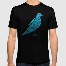 The Original Tweet No.3 Black SMALL Mens Fitted Tee