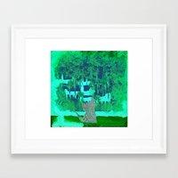Origami Cat 3 Framed Art Print
