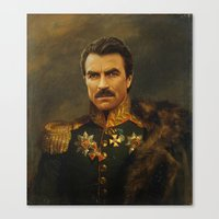Tom Selleck - Replacefac… Canvas Print