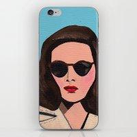 leave her to heaven iPhone & iPod Skin