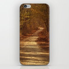 The path to nowhere iPhone & iPod Skin