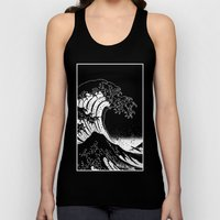 Hokusai, The Great Wave Unisex Tank Top