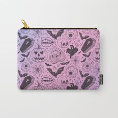 Spooky Scary Halloween print Carry-All Pouch