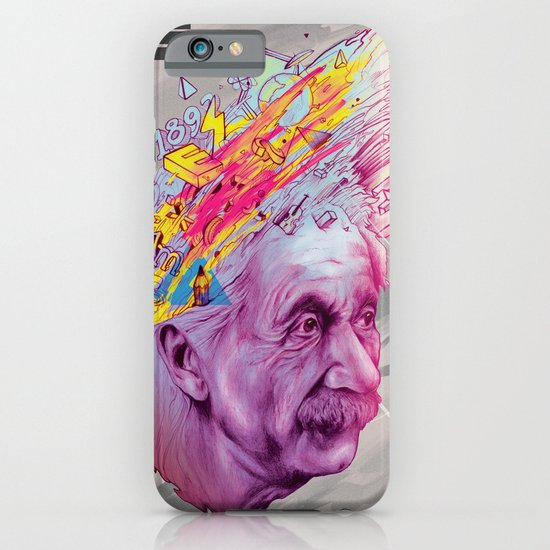 Mr. Einstein iPhone & iPod Case